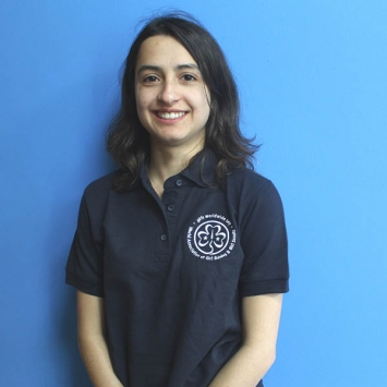 Embroidered WAGGGS polo shirt