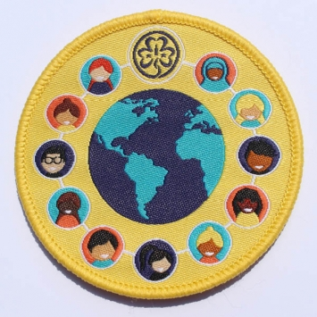 International Friendship Badge SINGLE
