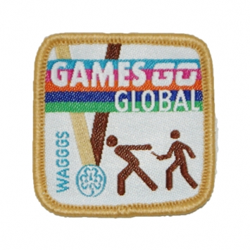 Games Go Global Badges BRONZE (Pack of 10)