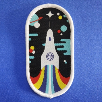 Space Badge (Pack of 10)