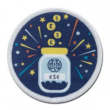 Fundraising badge