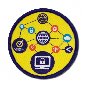 Symantec online badge SINGLE