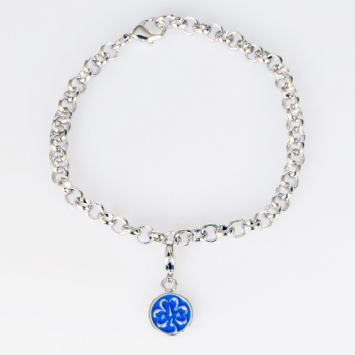 WAGGGS Charm Bracelet and Charm