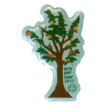 2017 World Thinking Day Pin