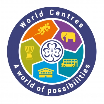 5 World Centres Badge (Pack of 10)