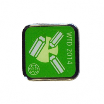 2014 World Thinking Day Pin