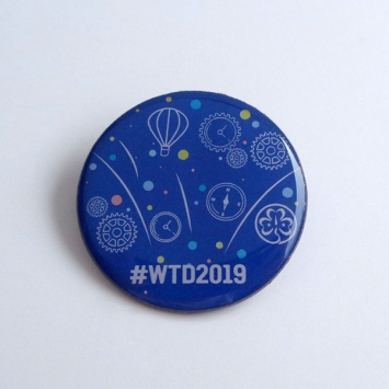 2019 World Thinking Day Pin