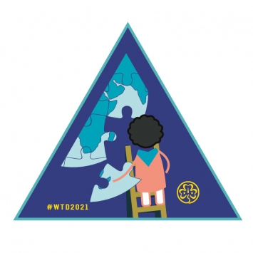 2021 World Thinking Day Badge