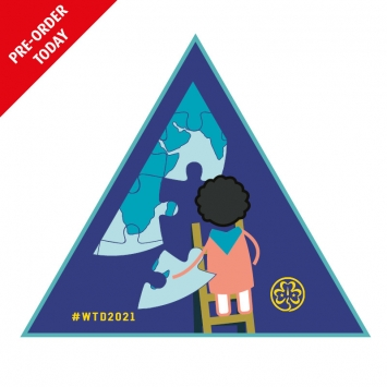 PRE ORDER 2021 World Thinking Day Badge