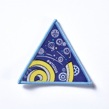 2019 World Thinking Day Cloth badge (SINGLE)