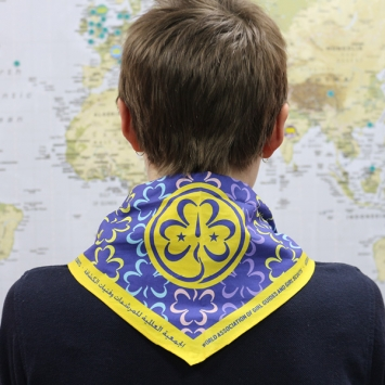 WAGGGS Cotton Scarf