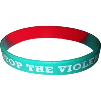 Stop The Violence wristband - 2 for 1!