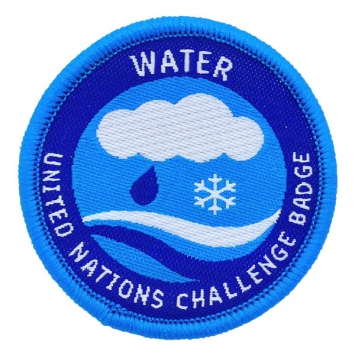 Water - UN Challenge Badge (Pack of 10)
