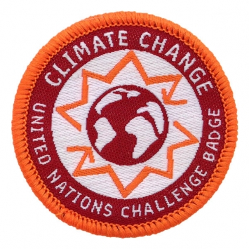 Climate Change -UN Challenge badge (Pack of 10)